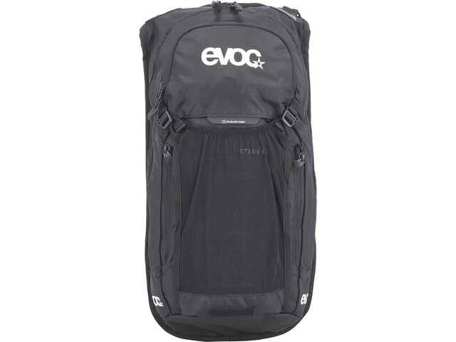 EVOC Stage Mochila Technical Performance 6l + Bolsa Hidratación 2l, black
